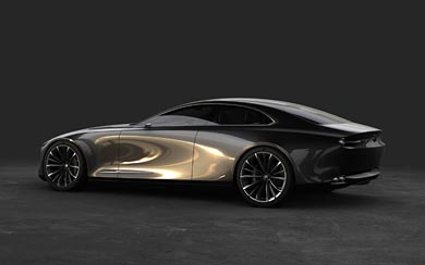 2017 Mazda Vision Coupe Concept wallpaper thumbnail.