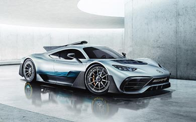 2017 Mercedes-AMG Project ONE Concept wallpaper thumbnail.