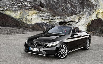 2017 Mercedes-Benz C43 AMG wallpaper thumbnail.