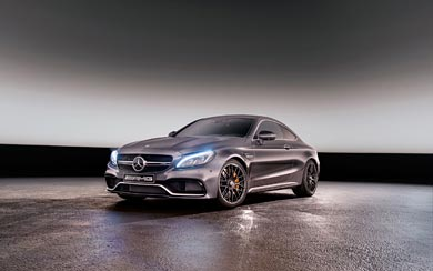 2017 Mercedes-Benz C63 AMG wallpaper thumbnail.