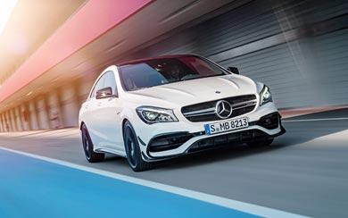 2017 Mercedes-Benz CLA45 AMG wallpaper thumbnail.