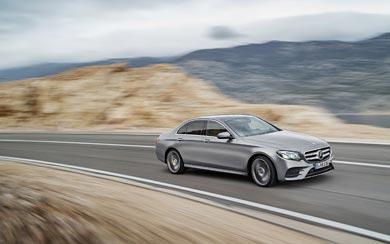 2017 Mercedes-Benz E-Class wallpaper thumbnail.