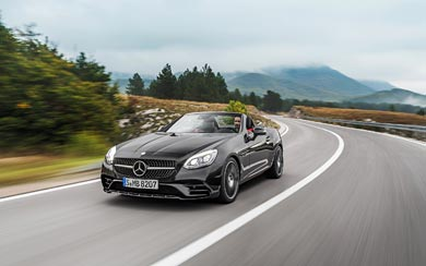 2017 Mercedes-Benz SLC43 AMG wallpaper thumbnail.