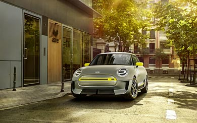 2017 Mini Electric Concept wallpaper thumbnail.