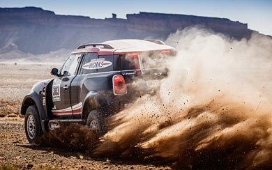 2017 Mini John Cooper Works Rally wallpaper thumbnail.