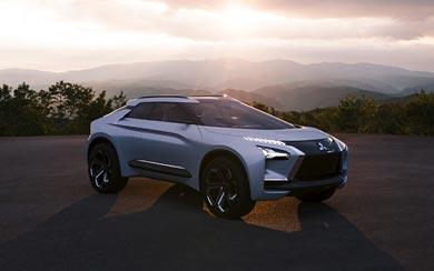2017 Mitsubishi e-Evolution Concept wallpaper thumbnail.