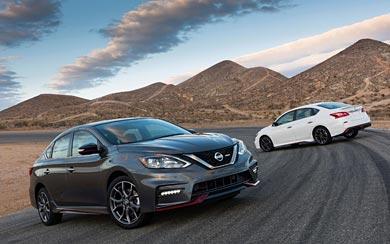 2017 Nissan Sentra Nismo wallpaper thumbnail.