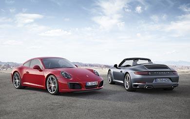 2017 Porsche 911 Carrera wallpaper thumbnail.