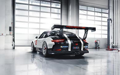 2017 Porsche 911 GT3 Cup wallpaper thumbnail.