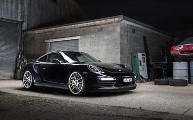2017 Porsche 911 Turbo S wallpaper thumbnail.