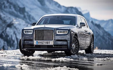 2017 Rolls-Royce Phantom wallpaper thumbnail.