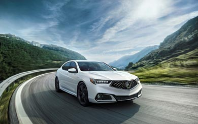 2018 Acura TLX A-Spec wallpaper thumbnail.