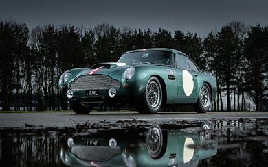 2018 Aston Martin DB4 GT Continuation wallpaper thumbnail.