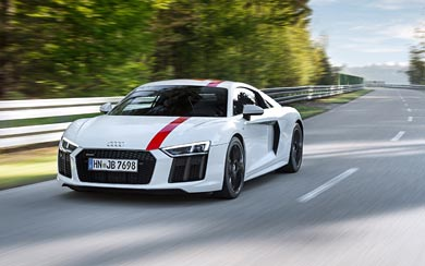 2018 Audi R8 V10 RWS wallpaper thumbnail.