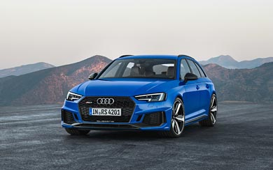 2018 Audi RS4 Avant wallpaper thumbnail.