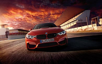 2018 BMW M4 wallpaper thumbnail.