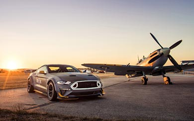2018 Ford Eagle Squadron Mustang GT wallpaper thumbnail.