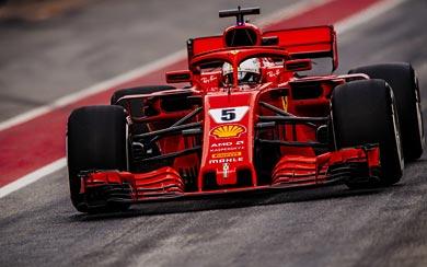 2018 Ferrari SF71H wallpaper thumbnail.