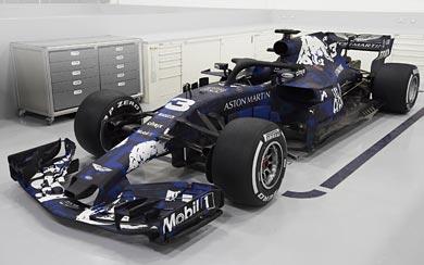 2018 Red Bull Racing RB14 wallpaper thumbnail.
