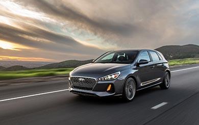 2018 Hyundai Elantra GT wallpaper thumbnail.