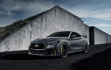 2018 Infiniti Q60 Project Black S Prototype wallpaper thumbnail.