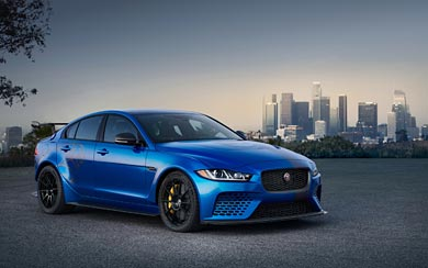 2018 Jaguar XE SV Project 8 wallpaper thumbnail.
