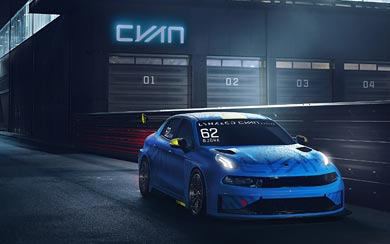2018 Lynk Co 03 Cyan Racing Concept wallpaper thumbnail.