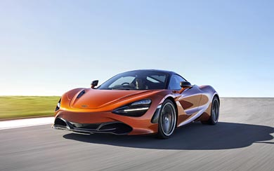 2018 McLaren 720S wallpaper thumbnail.