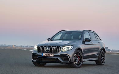 2018 Mercedes-Benz GLC63 S AMG wallpaper thumbnail.