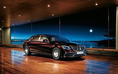 2018 Mercedes-Maybach S650 wallpaper thumbnail.
