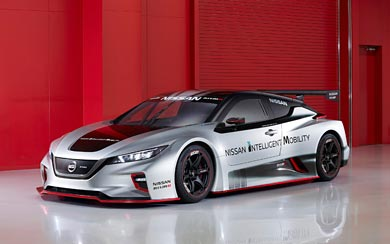 2018 Nissan Leaf Nismo RC Concept wallpaper thumbnail.