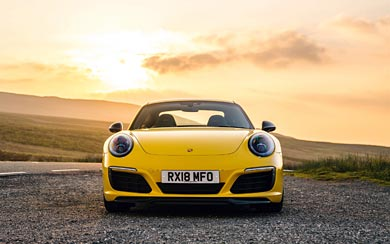 2018 Porsche 911 Carrera T wallpaper thumbnail.