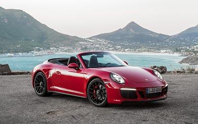 2018 Porsche 911 GTS wallpaper thumbnail.