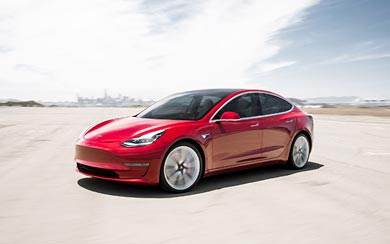 2018 Tesla Model 3 wallpaper thumbnail.