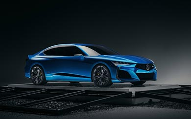 2019 Acura Type S Concept wallpaper thumbnail.