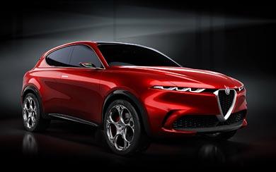 2019 Alfa Romeo Tonale Concept wallpaper thumbnail.