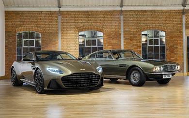 2019 Aston Martin DBS Superleggera OHMSS Edition wallpaper thumbnail.