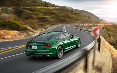 2019 Audi RS5 Sportback wallpaper thumbnail.