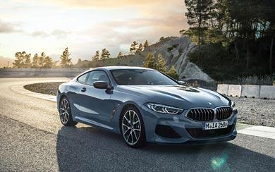 2019 BMW 8-Series Coupe wallpaper thumbnail.