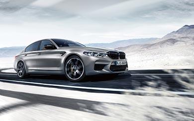 2019 BMW M5 Competition wallpaper thumbnail.