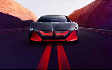 2019 BMW Vision M Next Concept wallpaper thumbnail.