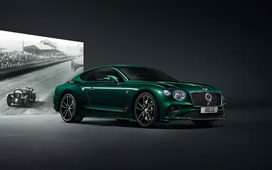 2019 Bentley Continental GT Number 9 Edition by Mulliner wallpaper thumbnail.