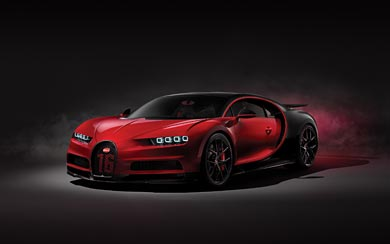 2019 Bugatti Chiron Sport wallpaper thumbnail.