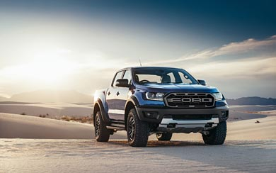 2019 Ford Ranger Raptor wallpaper thumbnail.