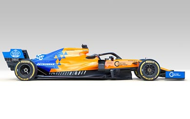 2019 McLaren MCL34 wallpaper thumbnail.