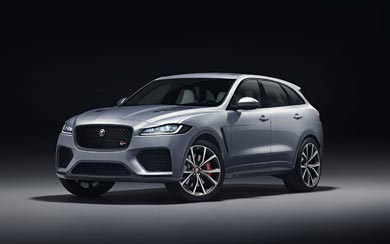 2019 Jaguar F-Pace SVR wallpaper thumbnail.