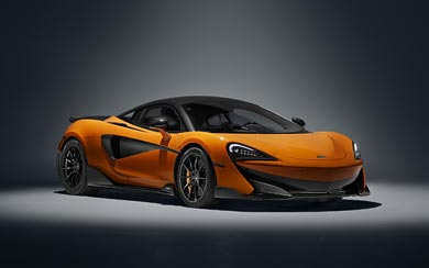 2019 McLaren 600LT wallpaper thumbnail.