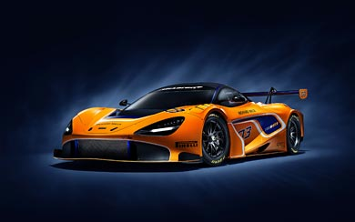 2019 McLaren 720S GT3 wallpaper thumbnail.