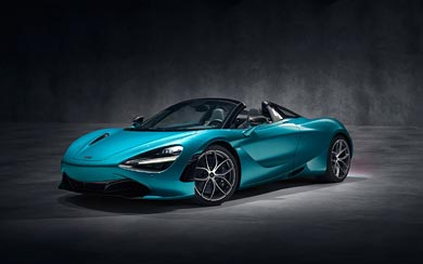 2019 McLaren 720S Spider wallpaper thumbnail.
