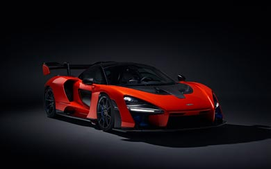2019 McLaren Senna wallpaper thumbnail.